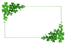 St Patricks Day Clover Leaves ...