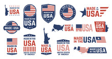 Made In USA Badges. Patriot Pr...