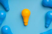 Lightbulb And Lamp For Creativ...