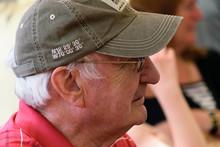 Elderly Man Wearing Baseball Cap