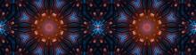 Abstract Wide Creative Kaleido...