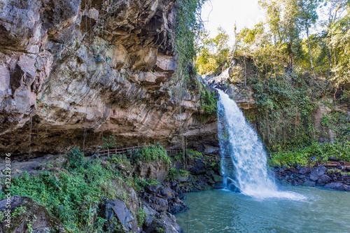 Fotomural cascada blanca waterfall Matagalpa Nicaragua