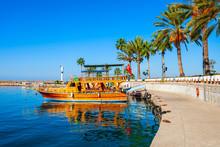 Boats At Side Pier In Turkey