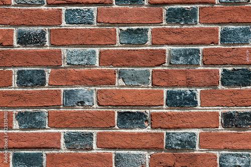 Colonial brick pattern