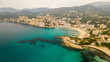 the shore town of Peguera, Mallorca, Spain