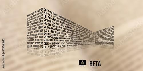 Beta Wallpaper Mural