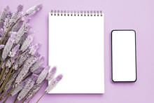 Notepad With Flower And Smart ...