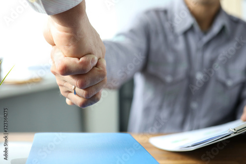 Project implementation, agreement and contract Canvas Print