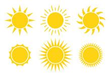 Sun Icon Vector Illustration I...