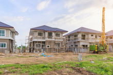 New House Building At Resident...