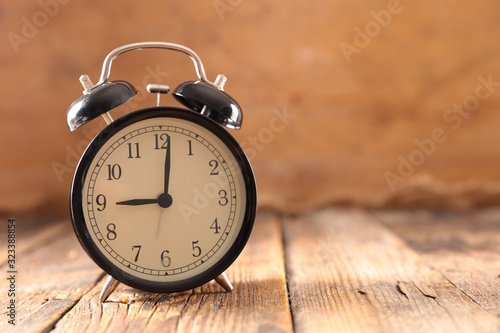 alarm clock morning wake-up time Canvas Print