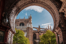 Beauty Of Seville Cathedral. V...