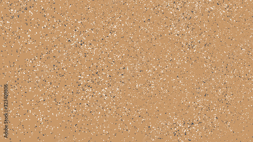 Terrazzo Pattern Abstract Background. Texture Design Elements.  Widescreen 16 : 9. Vector Illustration, Eps 10.
