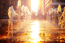 Street Fountain On Philadelphi...
