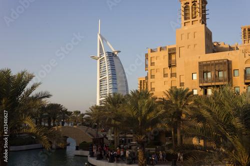 Photo Day view of Burj Al Arab from Madinat Souk