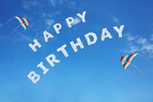 Happy Birthday Sign Text Made ...