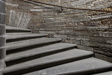 Old Stone Spiral Staircase Lea...
