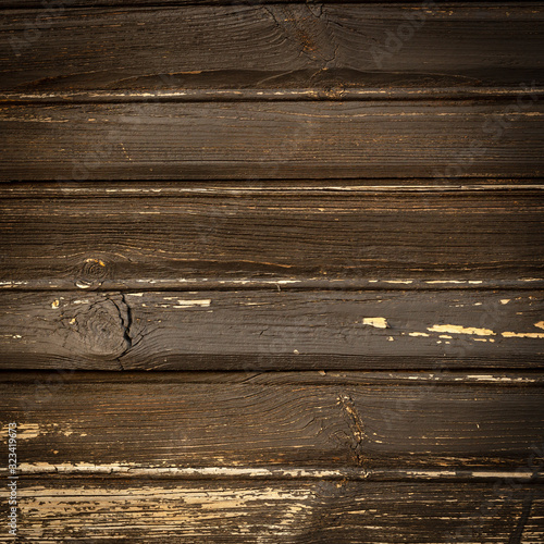 Old brown painted boards for use as a background