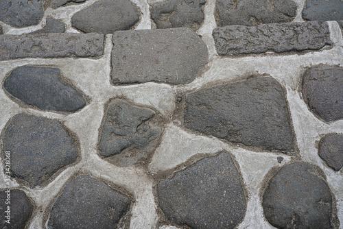 stone wall pavement background
