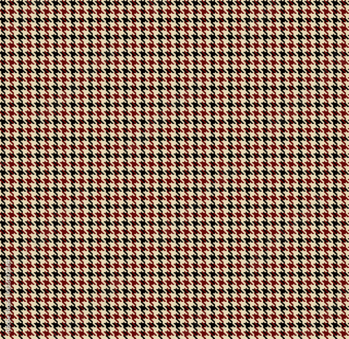 Photo Houndstooth seamless pattern. Brown classical fabric background