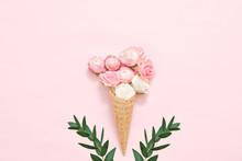 Creative Floral Composition. W...