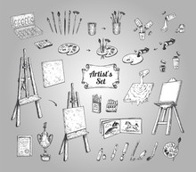 Drawing And Painting Supplies,...