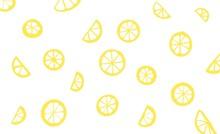 Seamless Pattern Lemon Citrus Food Fruit Illustration