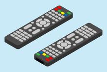 Modern Television Remote Contr...