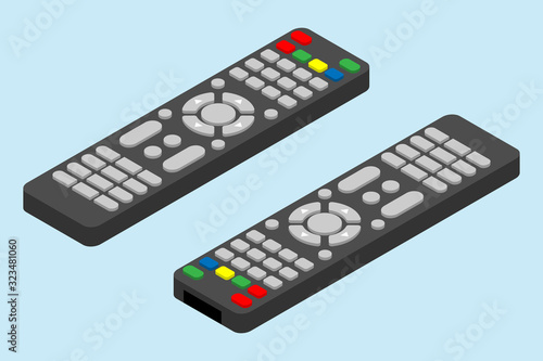 Fotomural Modern television remote control icon