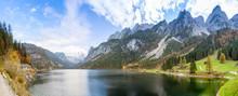 Famous Lake Gosau And Gosaukam...