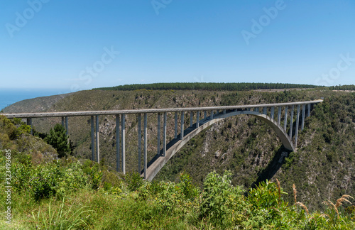 Fotografia Bloukrans Bridge, Eastern Cape, South Africa