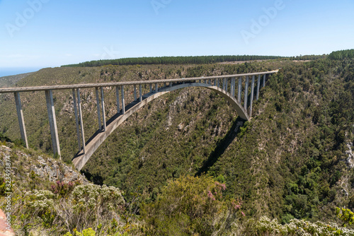 Bloukrans Bridge, Eastern Cape, South Africa Poster Mural XXL