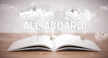 Open Book With ALL ABOARD! Ins...