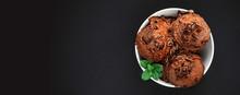 Chocolate Ice Cream Balls In A...
