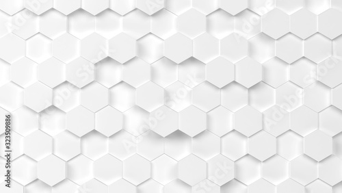 Abstract hexagon background - 323509886