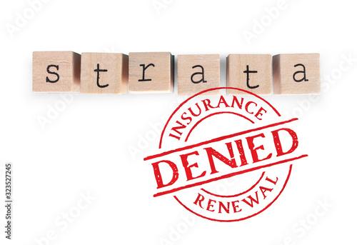 Fotografia Strata insurance denied