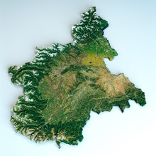 Satellite View Of The Piedmont...