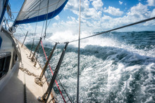 Rough Seas During Sailing Cros...