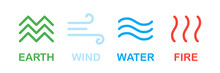 Elements Of Nature. Earth Wind...