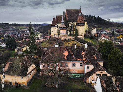 Fortress church at Biertan, Romania Canvas Print