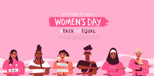 Women's Day Each For Equal Div...