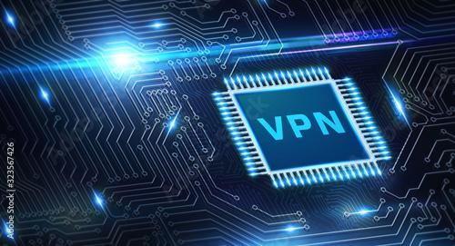 Valokuvatapetti Business, Technology, Internet and network concept