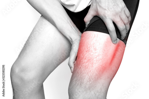 Photo Leg muscle pain