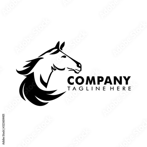 Zebra art illustration logo vector Canvas-taulu