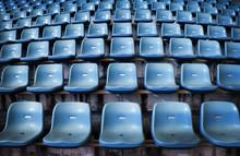 Empty Seat On Stadium For Spor...