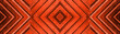 Leinwanddruck Bild - Fire red wooden pattern square texture background banner panorama long