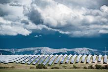 Big Solar Power Plant
