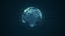 Digital Data Globe - Abstract ...