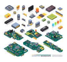 Electrical Boards Isometric. H...