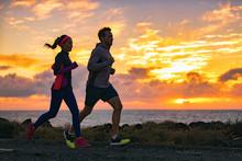 Running People Training Cardio...